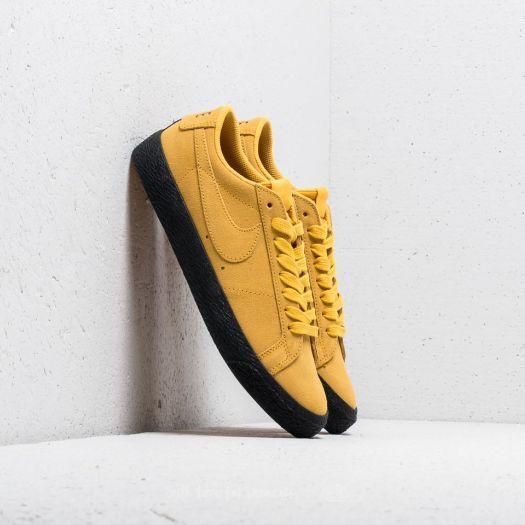 nike sb blazer zoom low yellow