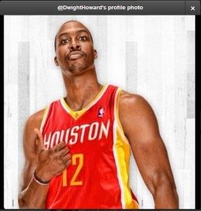 Dwight Howard Confirms Rockets Decision with New Twitter Avatar