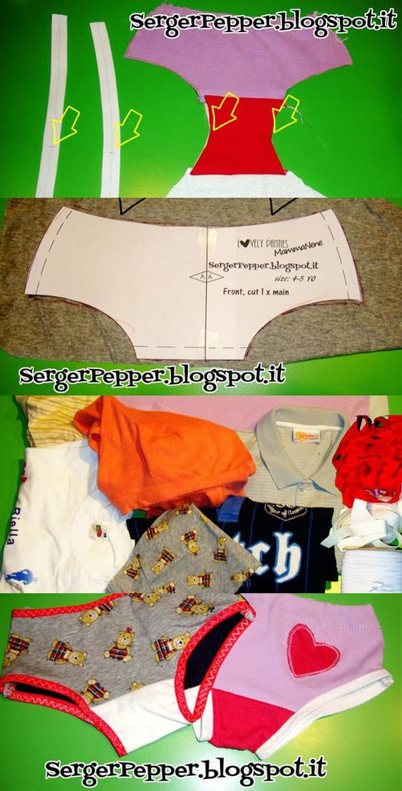 Lovely Undies FREE Pattern and a Detailed tutorial