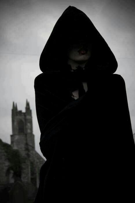 """Do not approach the hooded figures."" 