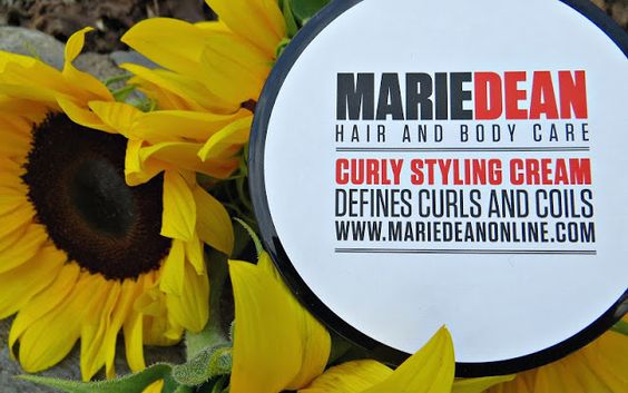 Spunky Real Deals: Marie Dean Curly Styling Cream {Review & Giveaway}