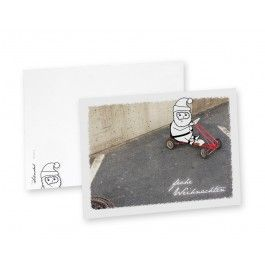 Endlich wieder Weihnachten! Weihnachts-Postkartenset bestehend aus 5 Postkarten im Set.Auswahlmöglichkeiten:Nr. 1: 5x unterschiedliche Karten (jedes Motiv jeweils 1x)Nr. 2: 5x Geiler SchlittenNr. 3: 5x HalteverbotNr. 4: 5x FotoboxNr. 5: 5x DelikatNr. 6: 5x BalkonienJede Karte wurde auf 100% Recyclingpapier gedruckt.