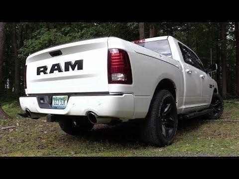 Pure Sound 2017 Ram 1500 Night Edition W Mopar Exhaust Cold