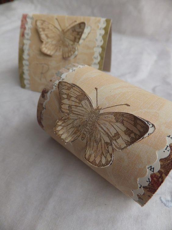 napkin rings napkins and toilet paper rolls on pinterest. Black Bedroom Furniture Sets. Home Design Ideas