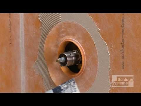 Home renovation videos and diy shower on pinterest - Ditra shower system ...