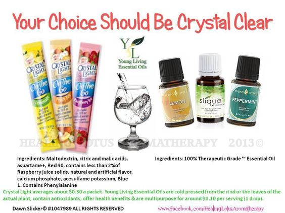 Young Living Lemon, Peppermint, Slique Essence Essential Oils...My Member Number: 1458528. or my website  http://tammy.marketingscents.com/