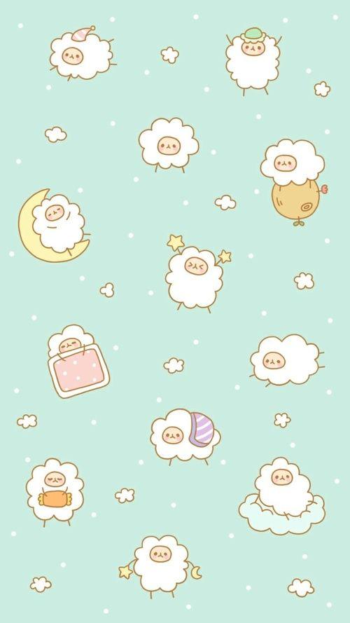 Animals Cute Animals And Design Afbeelding Wallpaper Iphone Cute Cute Cartoon Wallpapers Cute Pastel Wallpaper