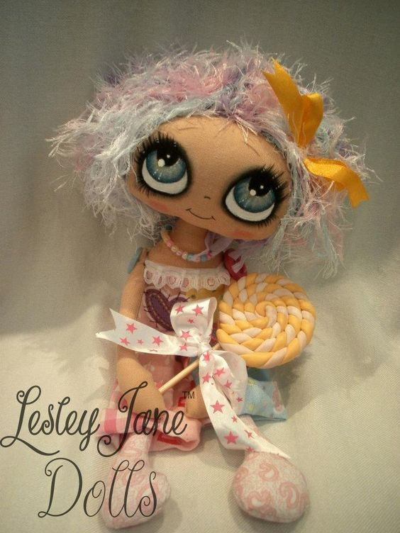 Our Lollipop Girl Lesley Jane Doll  https://www.facebook.com/lesleyjanedolls