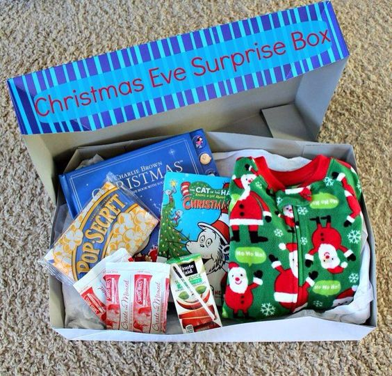 Christmas Eve box for toddler