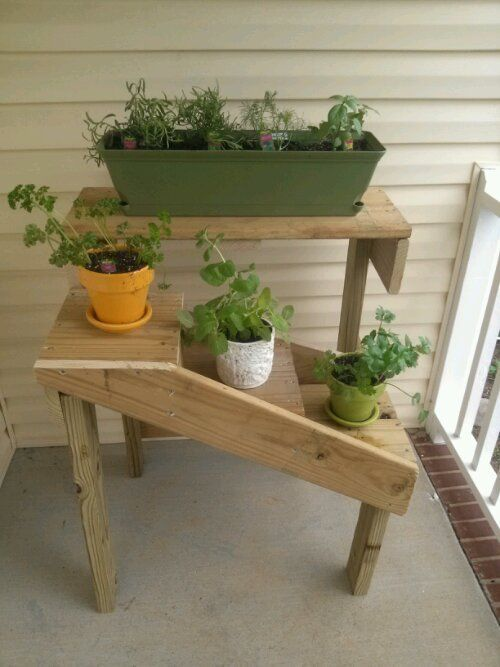 Diy Herb Garden This Awesome Herb Garden Is On My Front Porch