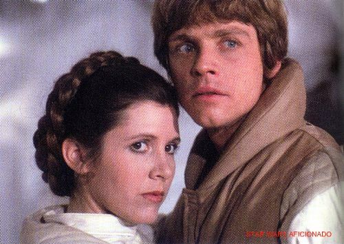 luke skywalker and princess leia relationship