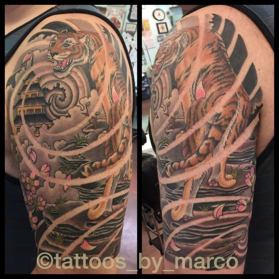 explore tattoos 4friends tattos and more japanese tiger tattoo temples ...