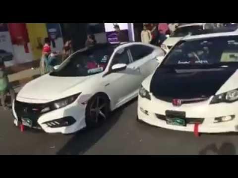 Auto Show Cars In Pakistan Car Drifting Smoke Pagal Driver