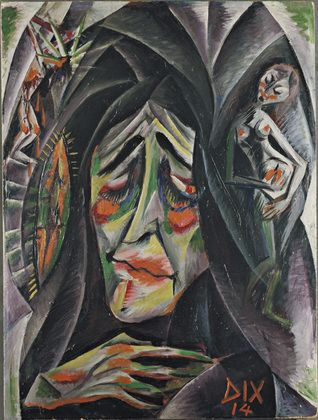 What is a good painting to analyze for a German Expressionism essay?
