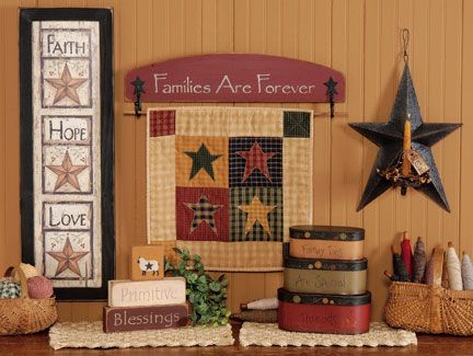 Country Sampler Magazine Wood Ruffles and Lace Primitives
