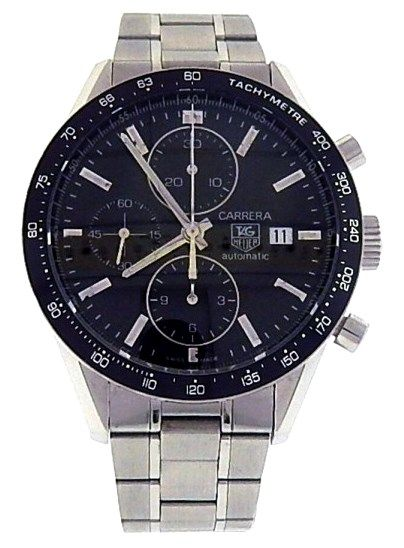 TAG Heuer Carrera CV201E.BA0794 Stainless Steel Men's Watch