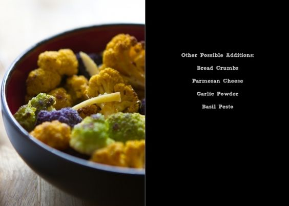 Roasted Tri-Colored Cauliflower with Preserved Lemon    from @Brian Samuels