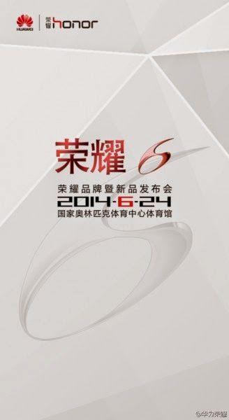 """Huawei Honor 6 """" MULAN"""" será presentado para el 24 de Junio"""