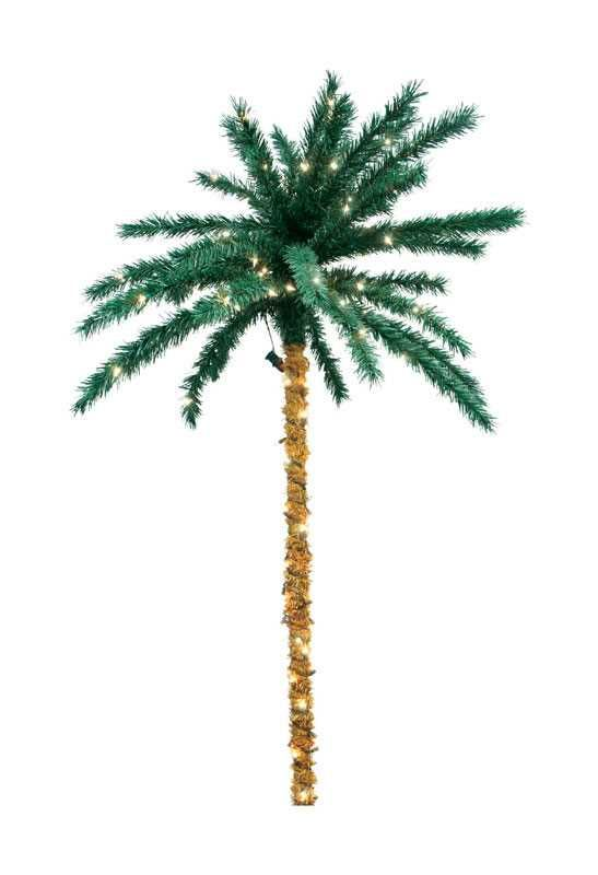 Sienna Clear Prelit 6 Ft Tropical Lighted Palm Tree 200 Lights