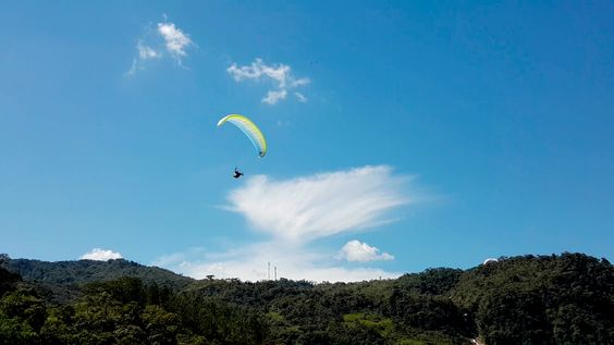 Paragliding over giant waterfalls - Image 5
