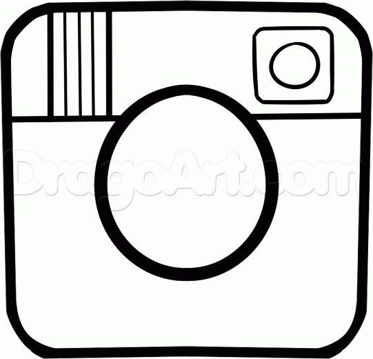 How To Draw The Instagram Logo Step 4 Social Media Theme Pinterest Instagram