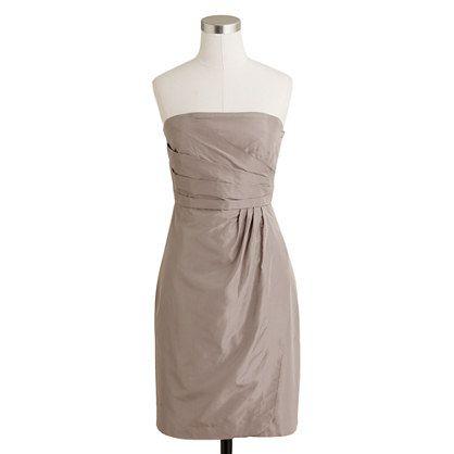 Selma dress in silk taffeta - dresses - Women's style guide/jcrew.com exclusives - J.Crew