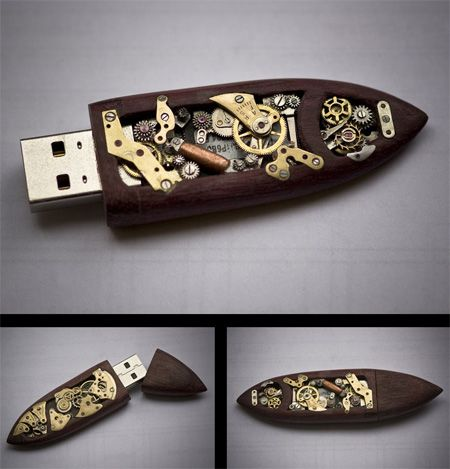 Cool Stuff We Like Here @ CoolPile.com ------- << Original Comment >> ------- Mechanical USB Flash Drive