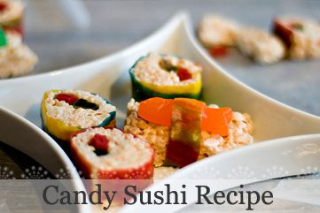 DIY Candy Sushi Tutorial