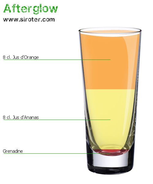Afterglow (sans alcool) en image