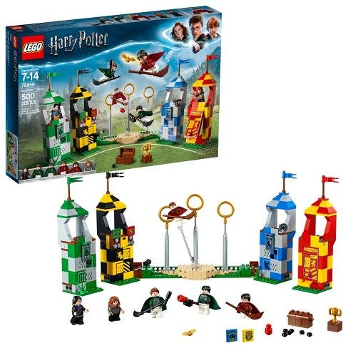 Lego Harry Potter Quiddictch Match 500 Pieces I Must Say I Am Super Excited For This Harry Harry Potter Toys Harry Potter Quidditch Harry Potter Lego Sets