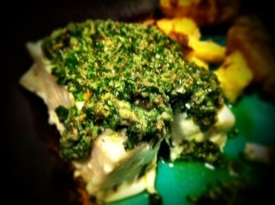 Tasty Tuesday: Halibut Salsa Verde - The Little Seed