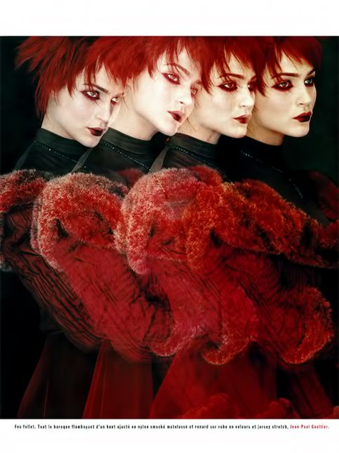 short red hair - haircut - mcb magazine - nicolas jurnjack - hair archives - mcb magazine, shot by michael woolley, make up : pascale guichard, hair : nicolas jurnjack
