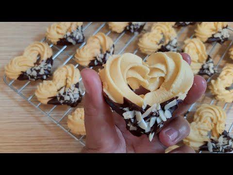 Kue Kering Lebaran 2020 Semprit Love Resep Jadul Tampilan Kekinian Youtube Kemasan Kue Kering Kue Kering Makanan