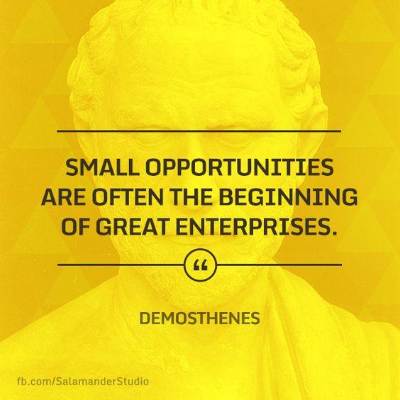 Demosthenes essay!! help?