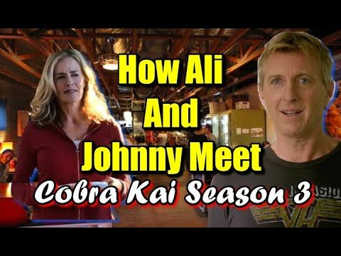 Cobra Kai Season 3 How Ali Mills Meets Johnny Lawrence Johnny Kai Cobra Kai Dojo