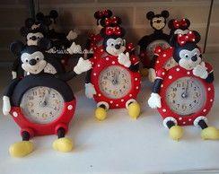relógio Mickey e minnie