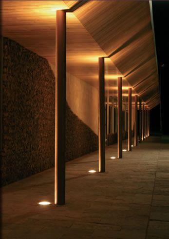 Canopy Lighting Amp Integrated Ground Lighting Exterior
