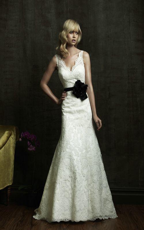 Allure Bridals 8825 Vintage Lace Wedding Dress