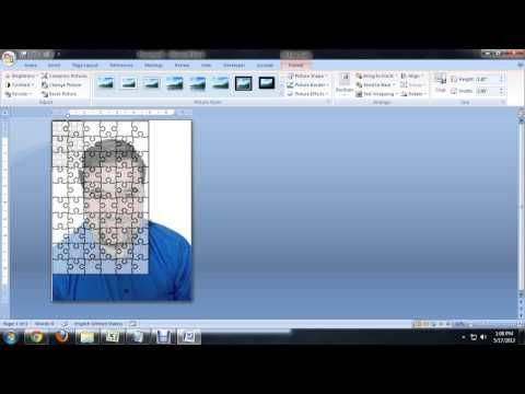 How to Create Jigsaw Puzzles in Microsoft Word, PowerPoint or - how to make a signup sheet on word