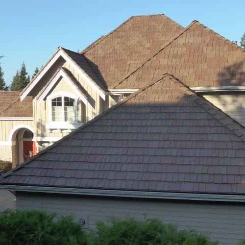 Synthetic Slate Shake Roof Gallery Davinci Roofscapes Shake Roof Synthetic Slate Slate Roof Tiles