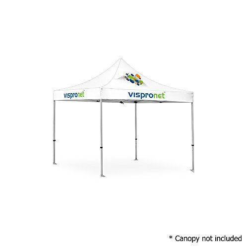 Vispronet 10ft X 10ft Commercial Aluminum Tent Frame 10 10 Pop Up Canopy Frame Frame Only Canopy Not Included Wicker Patio Furniture Sets Canopy Frame Wicker Patio Furniture