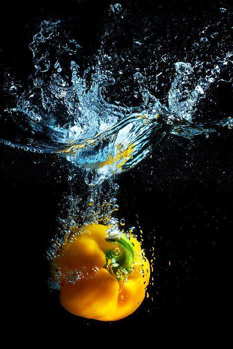 Bell pepper splash
