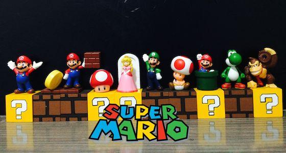 DiY Prateleira de Blocos do Super Mário ( Nintendo)