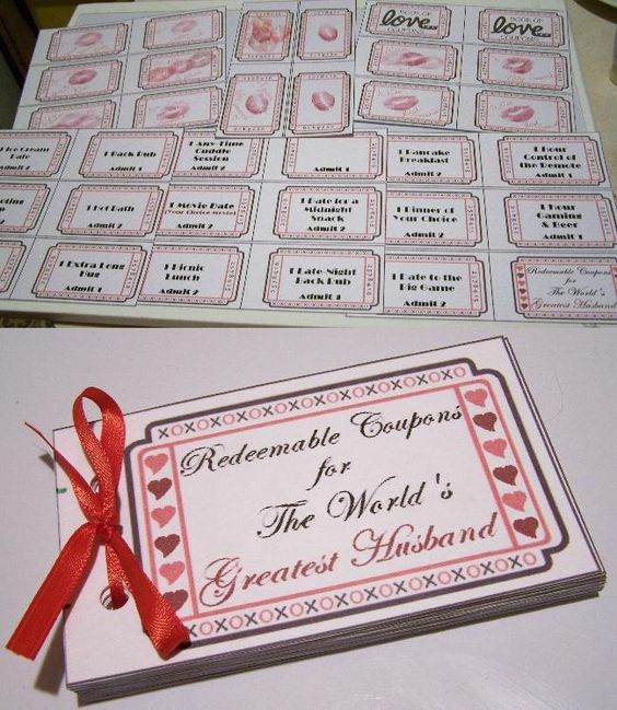 Diy coupon book for hubby i used a template from for Coupon book template for husband