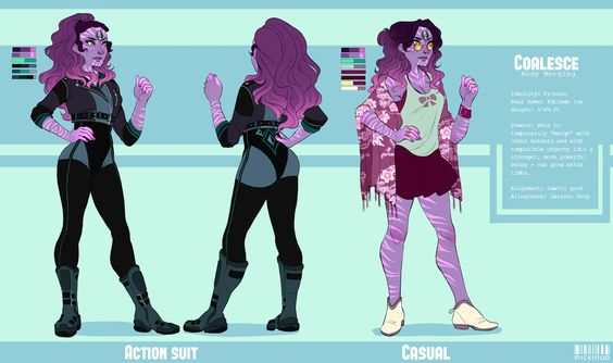 Coalesce Reference by mickinuo on DeviantArt