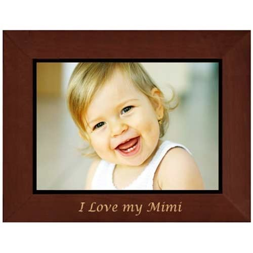 I Love My Mimi Picture Frame Engraved Love This Love