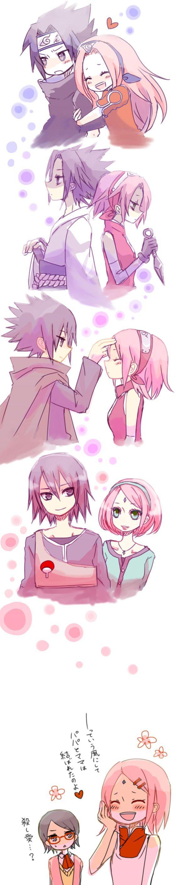 The years of SasuSaku. Sakura. Finally gets what's she's