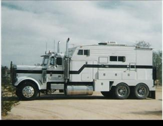 1995 Motorhome Conversion from 1985 Freightliner, Rebuilt