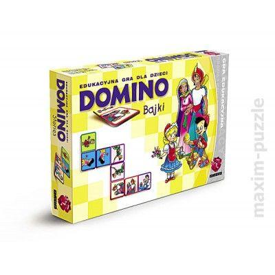 Popularna gra dla dzieci i wspaniała rozrywka dla całej rodziny. Grający może budować trasę domina w obu kierunkach dokładając obrazki z obu stron trasy.WIEK: 3-8 lat