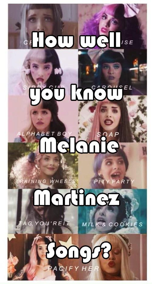 Melanie Martinez Songs Quiz